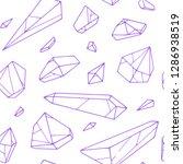 vector seamless hand drawn... | Shutterstock .eps vector #1286938519
