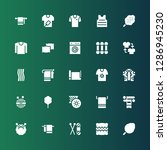 cotton icon set. collection of... | Shutterstock .eps vector #1286945230