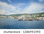 the aegean sea coast of turkey | Shutterstock . vector #1286951593