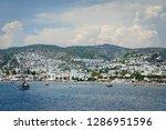 the aegean sea coast of turkey | Shutterstock . vector #1286951596