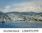 the aegean sea coast of turkey | Shutterstock . vector #1286951599