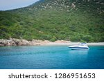the aegean sea coast of turkey | Shutterstock . vector #1286951653