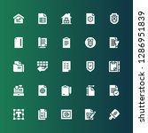 check icon set. collection of... | Shutterstock .eps vector #1286951839