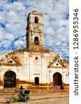 trinidad  cuba   november 21 ...   Shutterstock . vector #1286955346