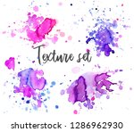 set of colorful abstract... | Shutterstock .eps vector #1286962930