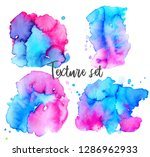 set of colorful abstract... | Shutterstock .eps vector #1286962933