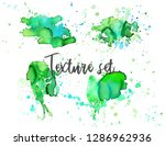 set of colorful abstract... | Shutterstock .eps vector #1286962936