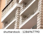 part of the facade of the...   Shutterstock . vector #1286967790
