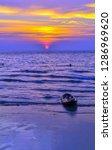sundown at koh kood island in...   Shutterstock . vector #1286969620