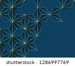 abstract modern background with ... | Shutterstock . vector #1286997769