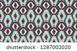 vintage vector pattern. ... | Shutterstock .eps vector #1287002020
