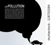 air pollution vector design | Shutterstock .eps vector #128702084