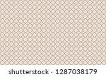 pattern seamless abstract... | Shutterstock .eps vector #1287038179