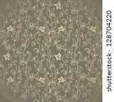 abstract seamless wallpaper ... | Shutterstock .eps vector #128704220
