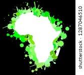 sketch blot dotty african...   Shutterstock .eps vector #1287046510