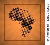 sketch blot dotty african...   Shutterstock .eps vector #1287046513