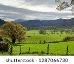 spring green pastures  fields... | Shutterstock . vector #1287066730