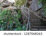 beautiful landscape of ancient  ... | Shutterstock . vector #1287068263