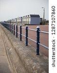 a rustic metal seaside...   Shutterstock . vector #1287107860