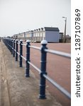 a rustic metal seaside...   Shutterstock . vector #1287107869