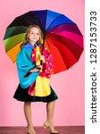 waterproof accessories make... | Shutterstock . vector #1287153733