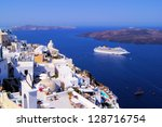 panoramic view of the town of...