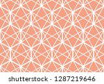 the geometric pattern with... | Shutterstock .eps vector #1287219646