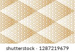 abstract geometric pattern.... | Shutterstock .eps vector #1287219679