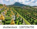 chonburi thailand october 18...   Shutterstock . vector #1287256750