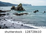 views of the sea | Shutterstock . vector #128728610