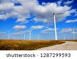 green renewable energy concept  ... | Shutterstock . vector #1287299593
