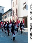 spilimbergo. pordenone district.... | Shutterstock . vector #1287312943