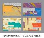 original presentation templates....   Shutterstock .eps vector #1287317866
