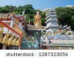 a buddhism temple at sean suk...   Shutterstock . vector #1287323056