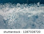 Glacier Lagoon With Icebergs...