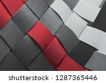close_up of intertwined...   Shutterstock . vector #1287365446