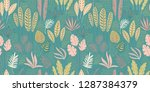 abstract seamless pattern with... | Shutterstock .eps vector #1287384379