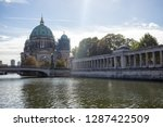 berliner dom  cathedral church... | Shutterstock . vector #1287422509