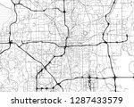 area map of orlando  united... | Shutterstock .eps vector #1287433579