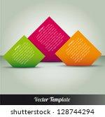 template  vector eps10... | Shutterstock .eps vector #128744294