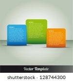 template  vector eps10...   Shutterstock .eps vector #128744300