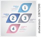 elements of infographics. | Shutterstock .eps vector #128747390