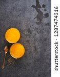 summer drink. fresh orange... | Shutterstock . vector #1287474316