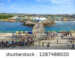 willemstad  curacao   december... | Shutterstock . vector #1287488020