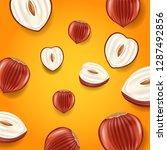 vector background with... | Shutterstock .eps vector #1287492856
