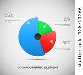 3d infographic design   Shutterstock .eps vector #128751266