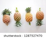 flat lay and top view many ... | Shutterstock . vector #1287527470