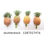 flat lay and top view many ... | Shutterstock . vector #1287527476