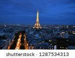 paris  france   may 13 2017 ... | Shutterstock . vector #1287534313