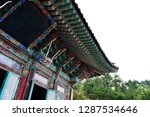 haedong yonggungsa temple on... | Shutterstock . vector #1287534646